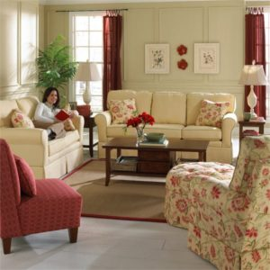 cottage collection sofa, made in america