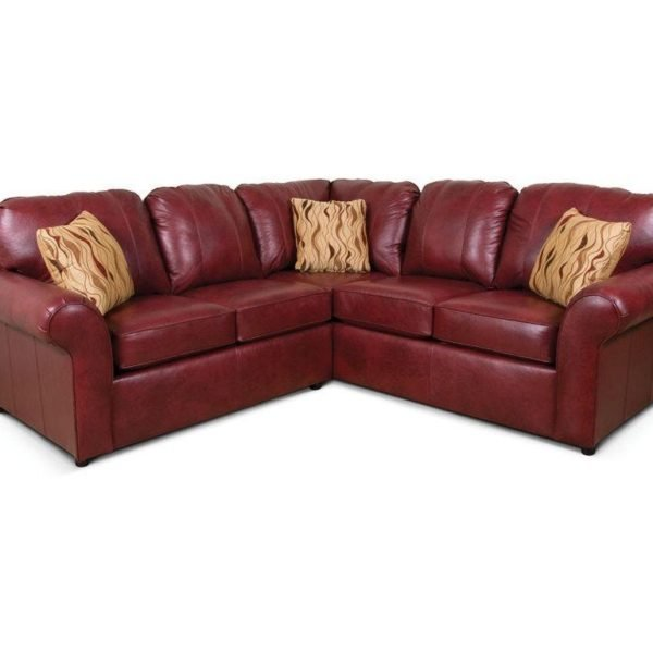 leather sectional, made in usa,