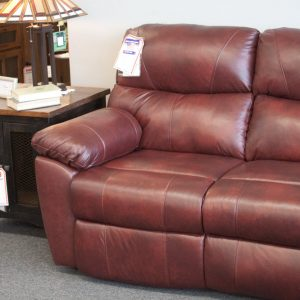 Comfort Plus Top Grain Leather Sectional detial