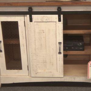 Farmhouse TV Stand interior