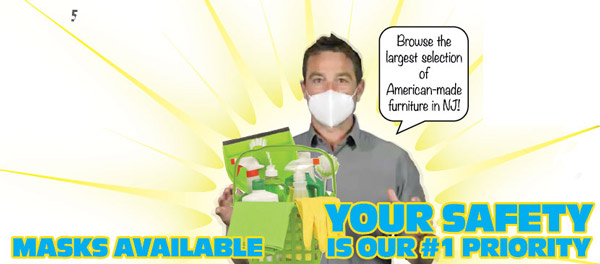 safety is our #1 priority. Masks available and required for everyone's protection.