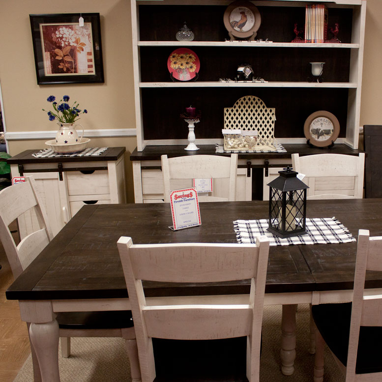 Pine Dining Set With Fireside Furniture In Pompton Plains New Jersey