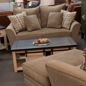 Oversized Living Room Set loveseat shown