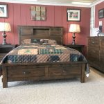 Restoration Bedroom Collection displayed at fireside