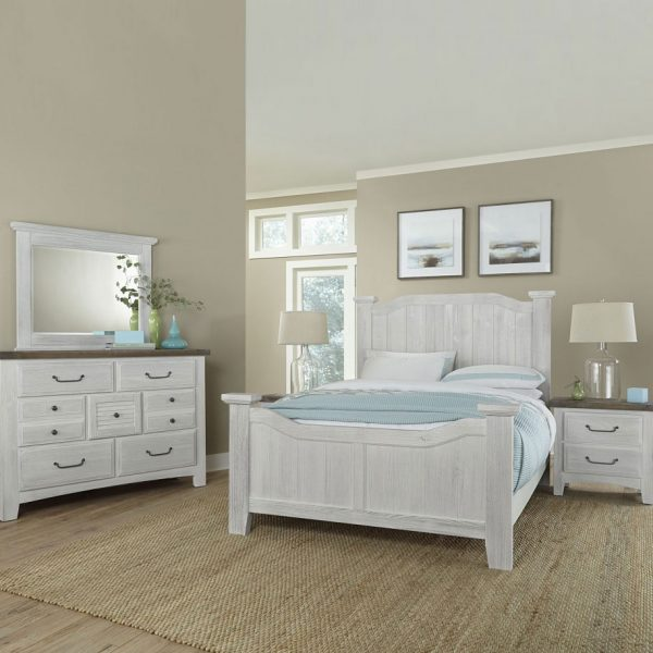 Rustic bedroom collection featuring natural and hand distressed rustic bedroom collection.