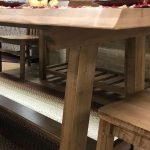 Solid-maple-dining-set-live-edge-construction