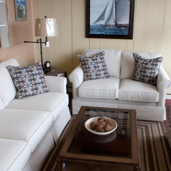 Transitional Sofa and loveseat