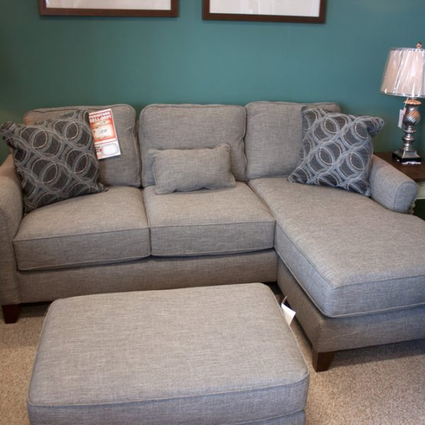 Chaise Sofa and matching ottoman