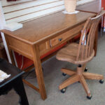 quality writing desk with chair