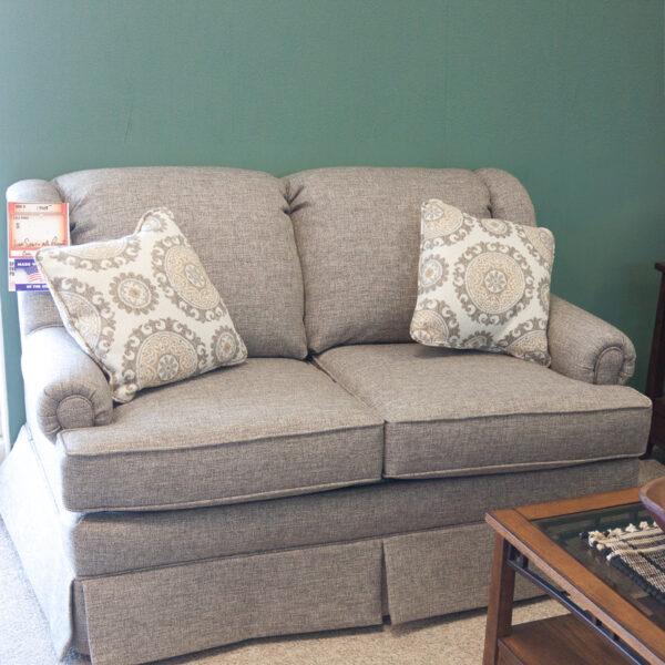 coil spring loveseat part of sofa set