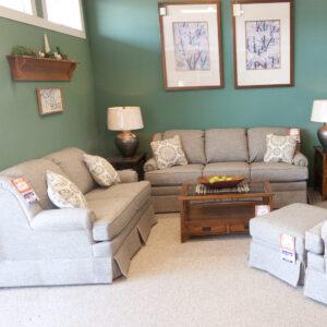 coil spring sofa set