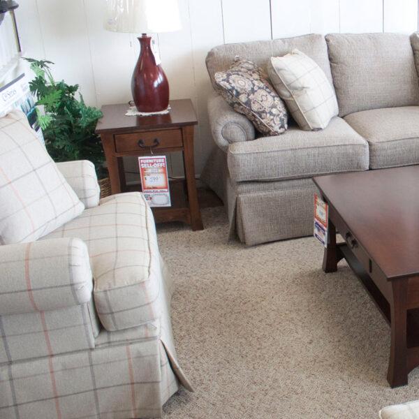 customizable sofa and chair