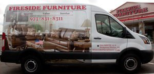 Furniture Delivery van