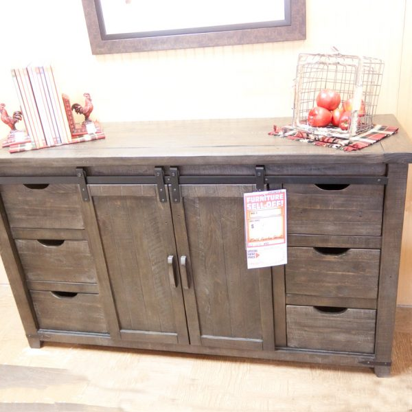 farmhouse buffet or tv table