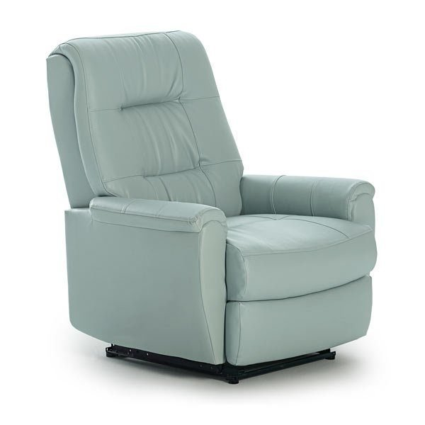 clean lines and sleek style of this contemporary recliner will be the perfect addition to add a modern touch to your home. You can choose from over 700 cover options to make it your own, and with the Power Lift option, you can go from a full recline to a standing position at the touch of a button