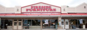fireside furniture storefront as seen from nj 23 south