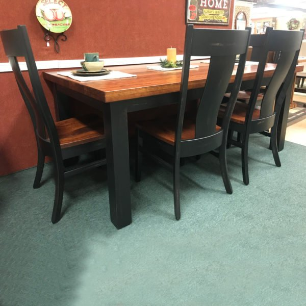 Hand-Planed Solid Top Table