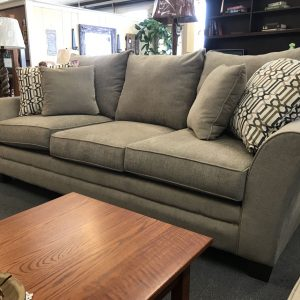 casual-collection-overstuffed sofa
