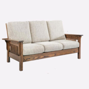 Mission amish built couch