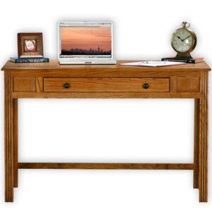 american oak writing desk