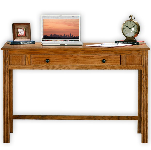american oak writing desk