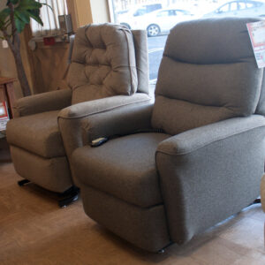 Power lift recliners at fireside