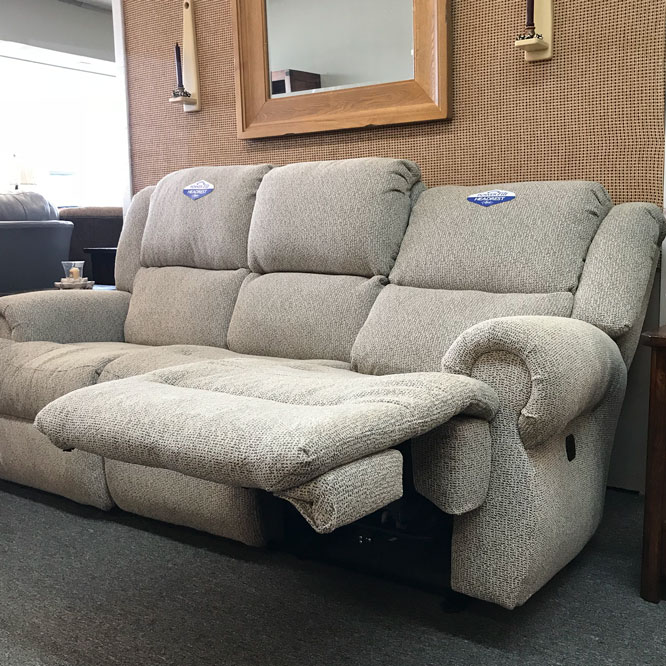 Power Reclining Chaise Lounge reclined