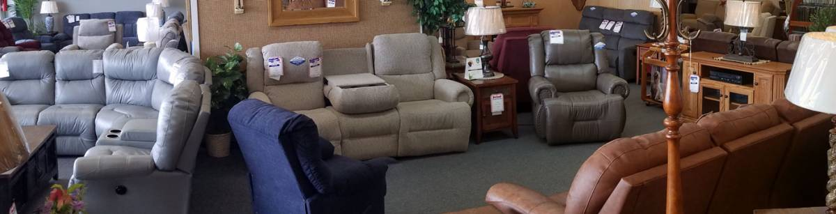 wide selection of recliners in fireside furniture