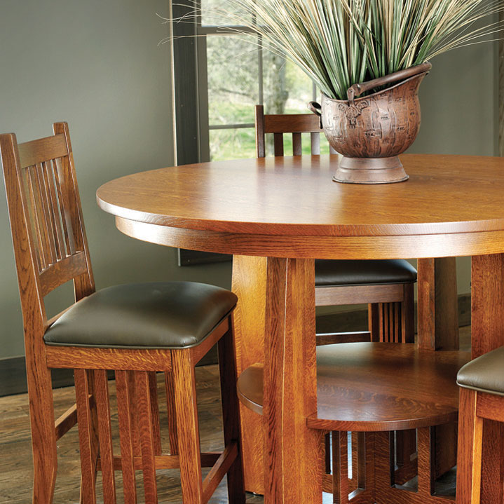 Mission Style Dining Room Furniture: Mission Style Dining Room Set