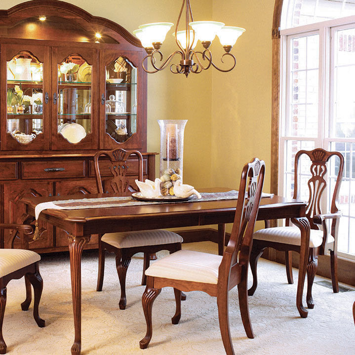 cherry dining room, made in america