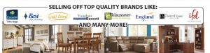 selling off top brands including best canadel gold bond and vaughan bassett