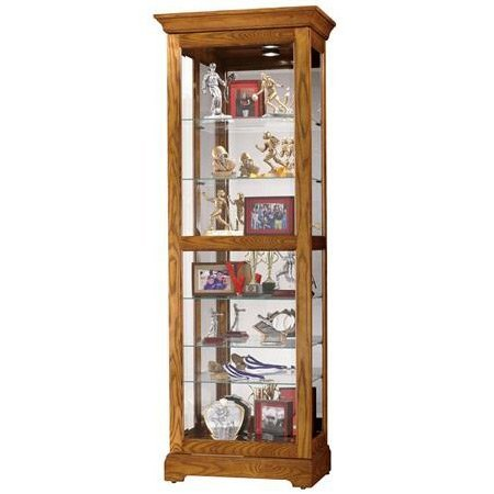 traditional-style-curio-shown-in-oak