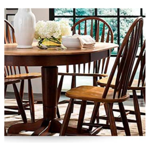 pedestal table, made in america