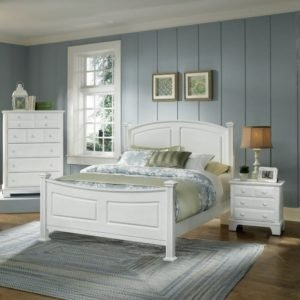 country white bedroom, made in america