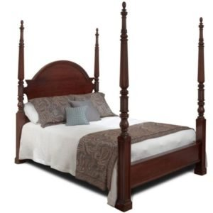 solid maple 4 poster bed, made in Canada