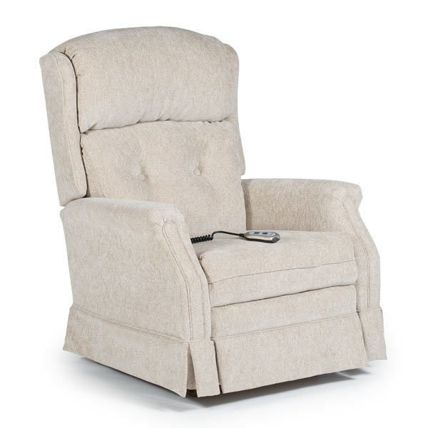 wingback recliner to a new age. With a regal back and slim arm rests
